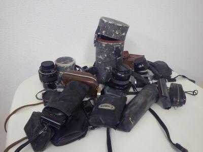 フィルムカメラ 買取(一眼レフカメラ 古いカメラ レンズ)藤沢市打戻