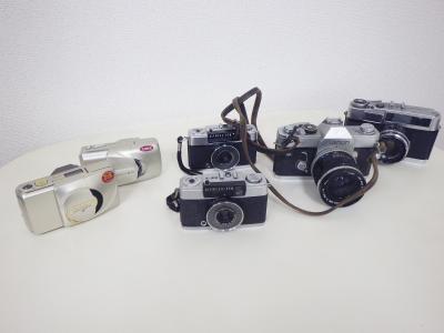 フィルムカメラ買い取り(オリンパス ヤシカ 一眼レフ コンパクトカメラ)藤沢市亀井野