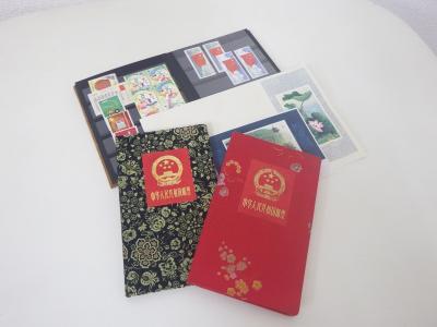 中国切手 買取(切手帳 お土産 バラ切手 小型シート)藤沢市善行坂