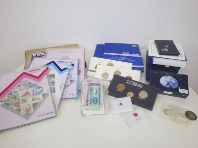 コレクション買い取り (記念切手 コイン 紙幣 メダル)藤沢市遠藤
