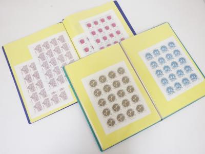 切手買取(シート バラ 記念切手)藤沢市花の木