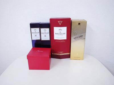 ウイスキー買取 (マッカラン ジョニーウォーカー バカラグラス)藤沢市亀井野