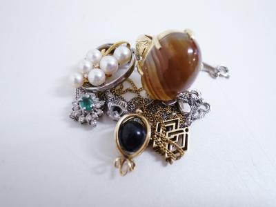 宝飾品買取(指輪 ネックレス エメラルド ダイヤモンド)藤沢市高倉