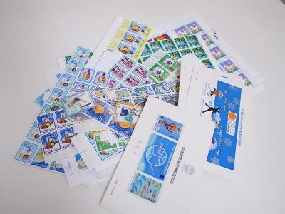 記念切手買取 (切手シート 切手バラ 小型シート)藤沢市遠藤