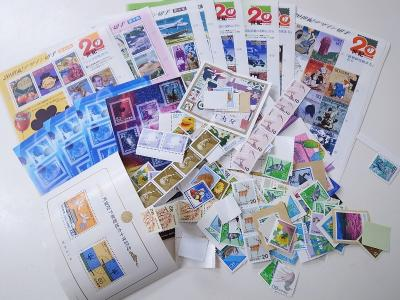 記念切手買い取り (切手シート 切手バラ 20世紀シリーズ)藤沢市石川