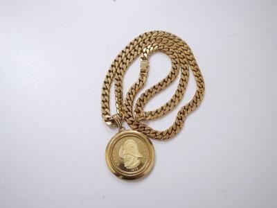 メダル付きネックレス 買取