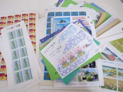 切手買い取り (シート バラ ふるさと切手)大和市